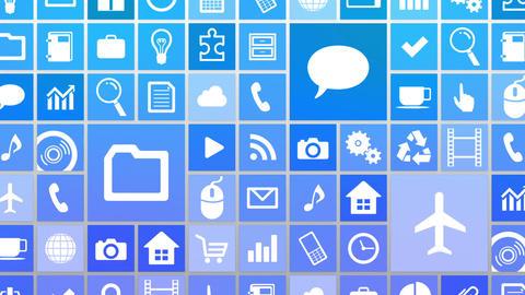 Smart Phone apps G Jw 4 HD Stock Video Footage