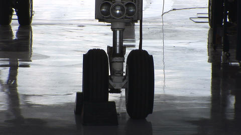 Landing gear Stock Video Footage
