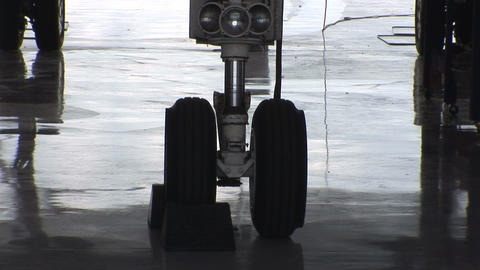 Landing Gear stock footage