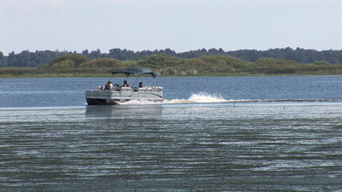 Recreational boat Stock Video Footage