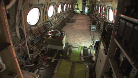 Stripped plane Stock Video Footage