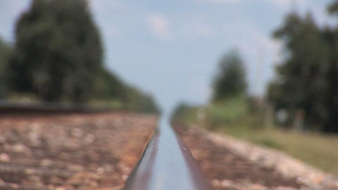 Railroad track Stock Video Footage