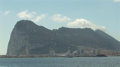 Gibraltar Stock Video Footage