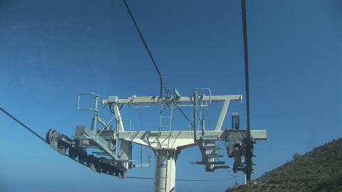 Cable car equipment top Footage