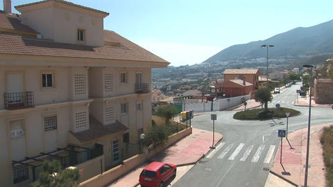Neighborhood in Spain Stock Video Footage
