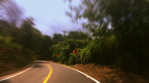 Countryside car trip 06 Stock Video Footage