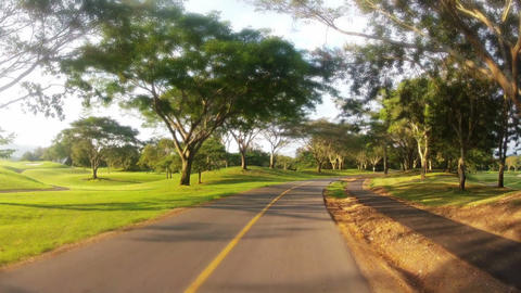 Golf Club 02 Stock Video Footage