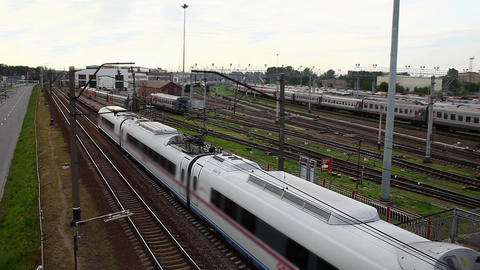 high speed train Stock Video Footage