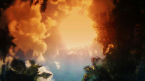 Underwater Sunlight Stock Video Footage