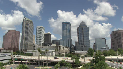 Tampa overview HD Stock Video Footage