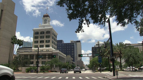 Tampa downtown HD Stock Video Footage