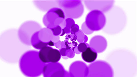purple circles loop,bubble & blister... Stock Video Footage