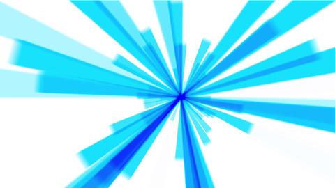 blue stripe & rays light,tech laser Stock Video Footage