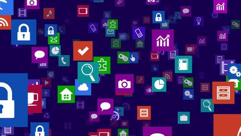 Smart Phone apps S Fb 3b 1 HD Stock Video Footage