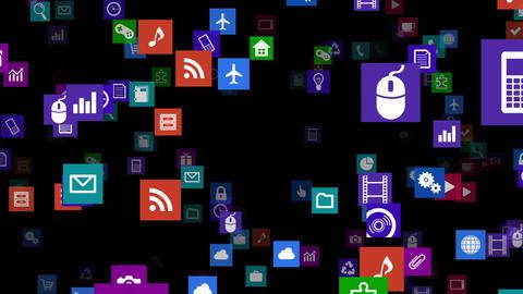 Smart Phone apps S Kb 3b 1 HD Stock Video Footage