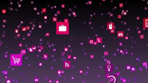 Smart Phone apps S Km 3b 2 HD Stock Video Footage