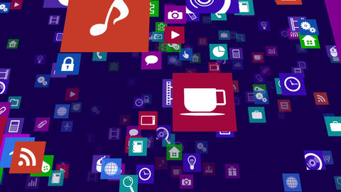 Smart Phone apps S Mb 3b 1 HD Stock Video Footage