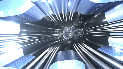Tunnel tube SF A 01b 2 HD Stock Video Footage