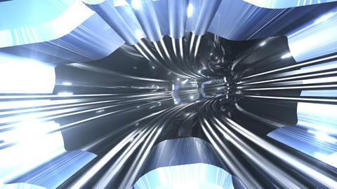 Tunnel tube SF A 01b 2 HD Stock Video Footage