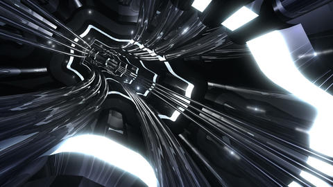 Tunnel tube SF A 01f 2 HD Animation