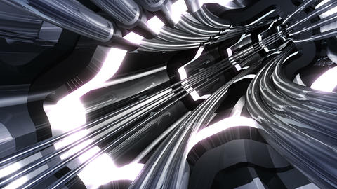 Tunnel tube SF A 01v HD Stock Video Footage