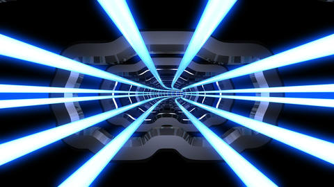 Tunnel tube SF A 02d HD Stock Video Footage