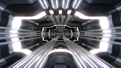 Tunnel tube SF A 02v HD Stock Video Footage
