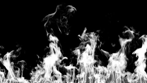 Fire Ignition with Alpha Mask, HD 1080, Close-up Stock Video Footage