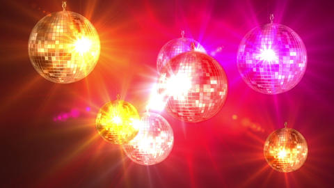 Mirror ball 8215 Stock Video Footage