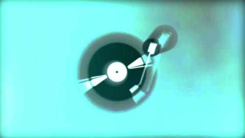 Vinyl pulse Stock Video Footage