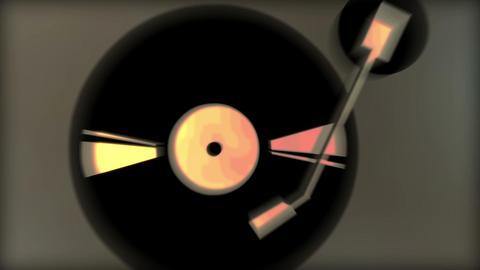 Vinyl pulse Animation