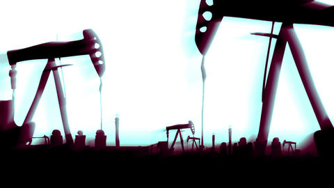 Polution landscape Stock Video Footage