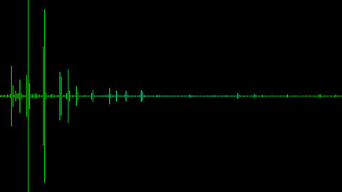sound wave with alpha Stock Video Footage
