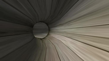 moving in tunnel,wood pipeline,virtual game scenes Animation
