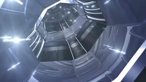 Tunnel tube SF B 01b 2 HD Stock Video Footage