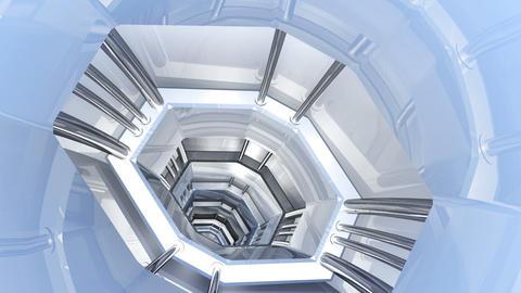 Tunnel tube SF B 01jj HD Animation