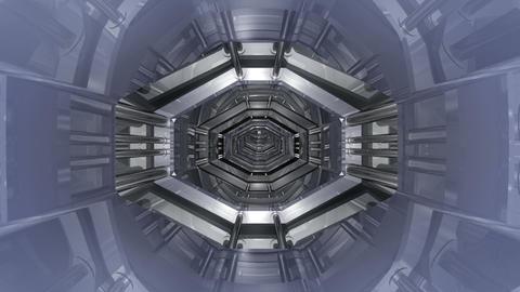 Tunnel tube SF B 02aa HD Stock Video Footage