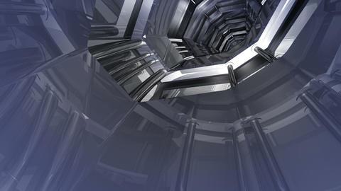 Tunnel tube SF B 02aa HD Animation