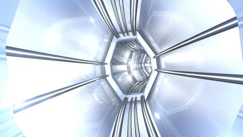 Tunnel tube SF B 03j 2 HD Stock Video Footage