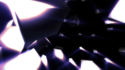 Cubes expansion Animation