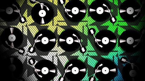 Vinyl player 1 Stock Video Footage