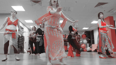 Dance Belly Belly-dance Dancer Dancing Performance Footage
