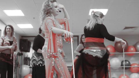 Dance Belly Belly-dance Dancer Dancing Performance Footage
