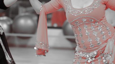 Dance Belly Belly-dance Dancer Dancing Performance Stock Video Footage