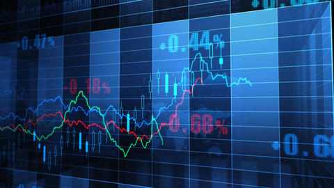 Stock Market trends 065 Animation