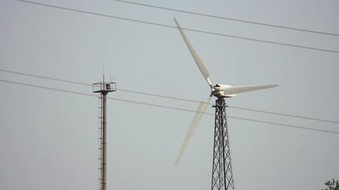 Wind Power 18 Stock Video Footage