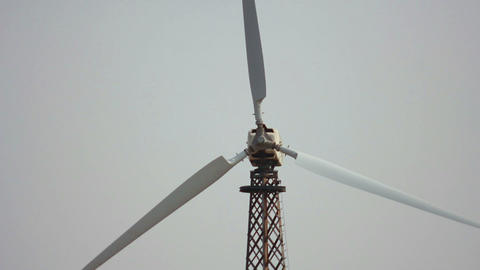 Wind Power 18 Stock Video Footage