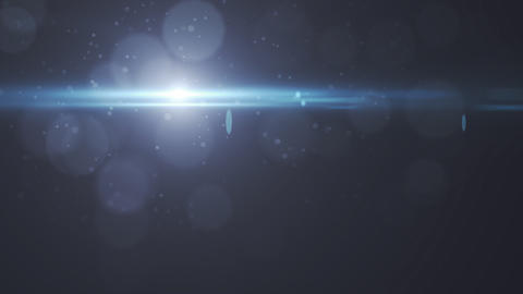 Lens Flares crossing of circle shape slope Stock Video Footage