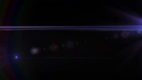 Lens Flares crossing Purple Stock Video Footage
