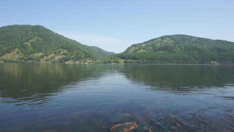 River Yenisei 06 Stock Video Footage